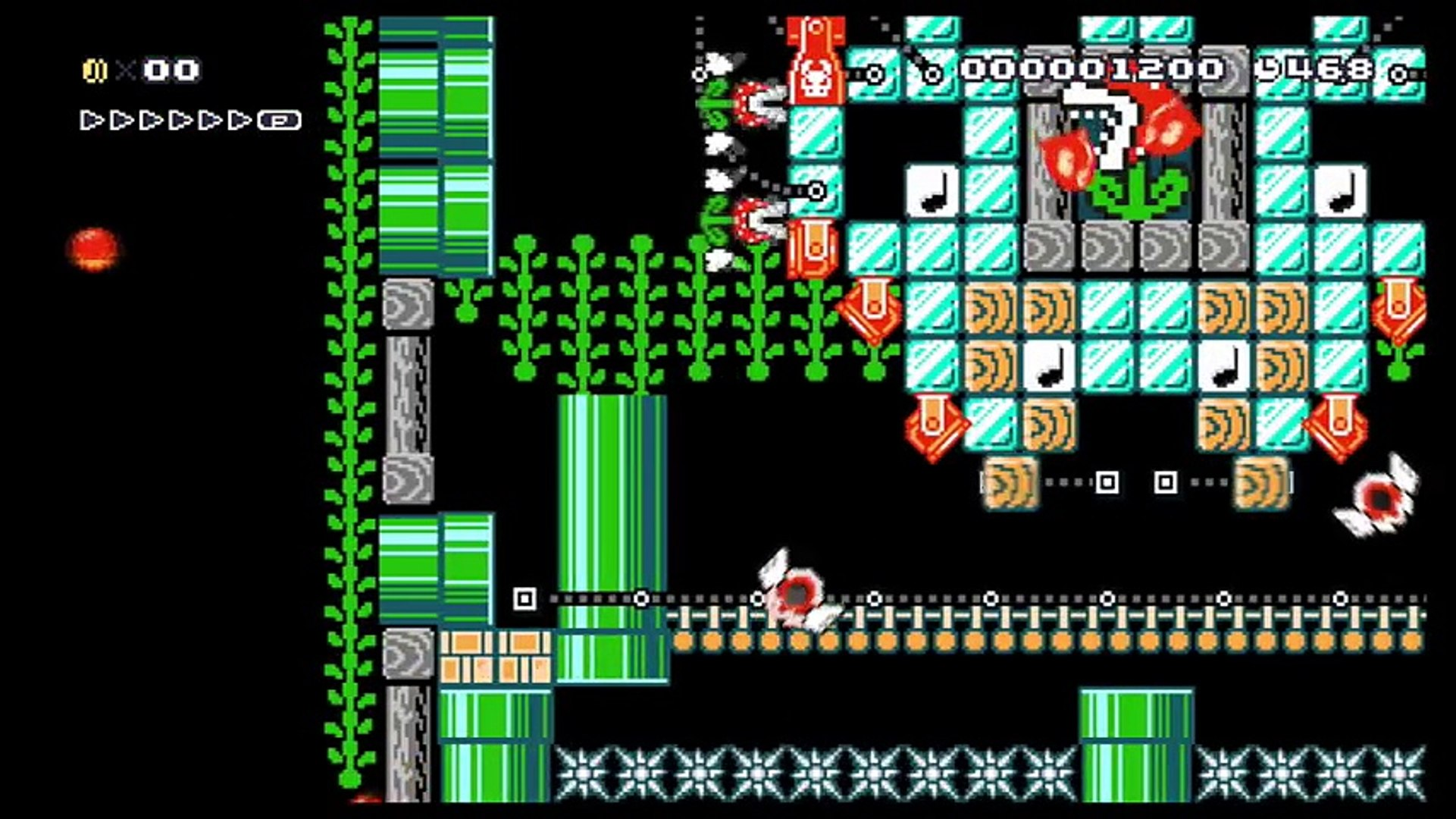 Undertale Flowey Battle - Super Mario Maker