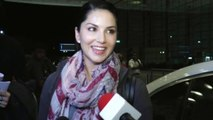 Sunny Leone Spotted At Airport Leaving For Holidays With Husband