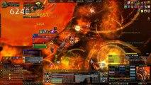 WoW - How to Avoid Engulfing Flames - Ragnaros 25 Heroic