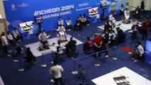 14.10.19 T08 KIM Jung-A(KOR) vs CHUNG Yuen Ping(HKG) - 2014Incheon APG Wheelchair Fencing WF C-B.