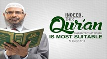 Asking differences between Quran & Bible on Universe's creation accepted Islam~Dr Zakir Naik