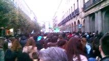 Manifestación recortes educación Salamanca 24-Octubre-2013