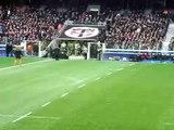 Dimanche 23/02/09 Stade Toulousain 20-13 Clermont Auvergne - Entrée des joueurs