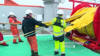 CLIP_ Exercice maritime ANED-POLMAR 2016 au large du Havre