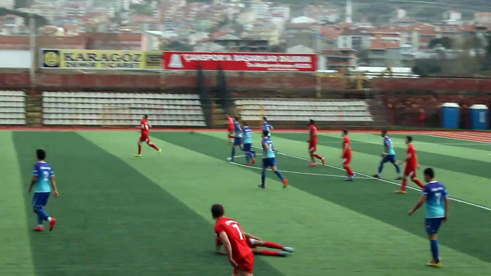Çan Spor U-19 Biga Spor Centilmence Oyun Oldu