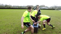 Rugby Insiders – Offload Technique adidas Rugby