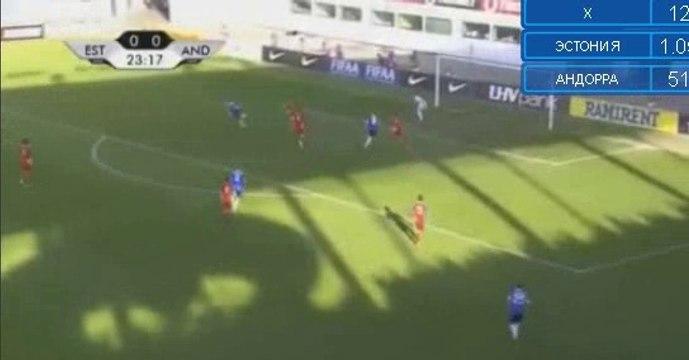 Dmitrij Kruglov Goal HD - Estonia 1-0 Andorra 01.06.2016