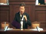25. 9. 2014 Tomio Okamura ke sporu poslanců Kalouska a Ondráčka