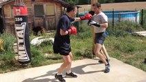kick boxing st sulpice preparation ceinture kick boxing  FRANÇOIS   RODOLPHE