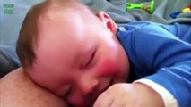 Cute Babies Laughing While Sleeping Compilation 2014