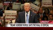 Donald Trump - 'Build that wall! Build that wall! Build that wall! Build that wall!'