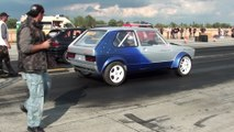 Opel Astra GSI Vs. VW Golf I