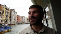 St. Helen's Pilgrimage - Interview with Nicholas Junes on the Grand Canal, Venice, Italy