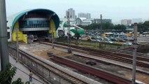 [HD] The Line 1 of GuangZhou Metro Bombardier MOVIA 456 train depart the Kengkou Station