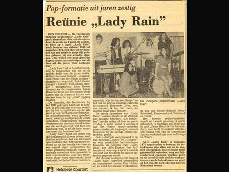 Bad moon rising - The Dutch Lady Rain