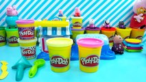 peppa pig play doh cupcakes double dessert toy playdough toys Свинка Пеппа