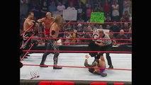 Evolution vs. Chris Benoit, Chris Jericho & Edge: Raw, Aug. 2, 2004