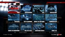 WWE 2K15 [XBOX ONE / PS4 / NEXT GEN]: All Arenas and PPVs