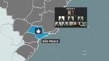 Polícia desmonta esquema de tráfico de drogas e prende 57