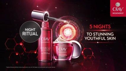 5 Nights to Stunning Youthful Skin with Regenerist Night Ritual - Olay