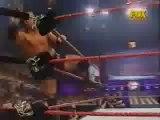 X-Pac vs Billy Kidman Titles for Titles Championship Unification Match WCW Cruiserweight Championship and WWF Light Heavyweight Championship WWF Raw 30/7/2001