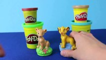 Play Doh Lion King Simba and Nala Play Doh Stamps Disney Play Dough Jungle Animals Lions