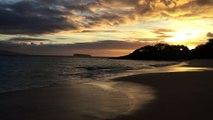 Makena beach, Maui - crazy sunset