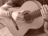 """cours de guitare """" le roulement """"  FLAMENCO RUMBA"""