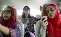 girls singing variuos songs in one clip | Three beautiful girls singing in meshup