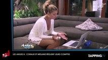 Les Anges 8 : Coralie et Mélanie en guerre ? Elles règlent leurs comptes ! (Vidéo)