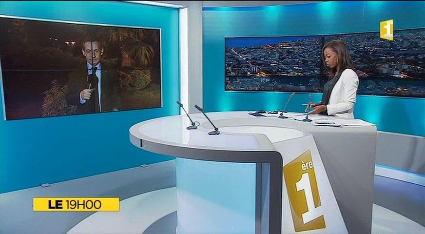 La Réunion : Itw Nicolas Sarkozy - Extrait JT 19h du 27 mai 2016