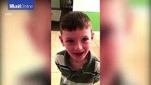 Il revoit son papa parti en mission après 3 mois sans le voir. Surprise magique pour cet enfant!