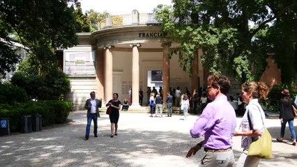PAVILLON FRANÇAIS À LA 15E BIENNALE INTERNATIONALE D'ARCHITECTURE DE VENISE 2016