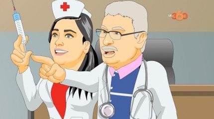 le36 مدرسة36 : زيارة طبية