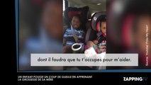 Elle annonce sa grossesse à son fils qui pousse un violent coup de gueule (Vidéo)