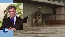 """Inondations: le maire du 6 e arrondissement de Paris s'inquiète des """"bouchons supplémentaires"""""""