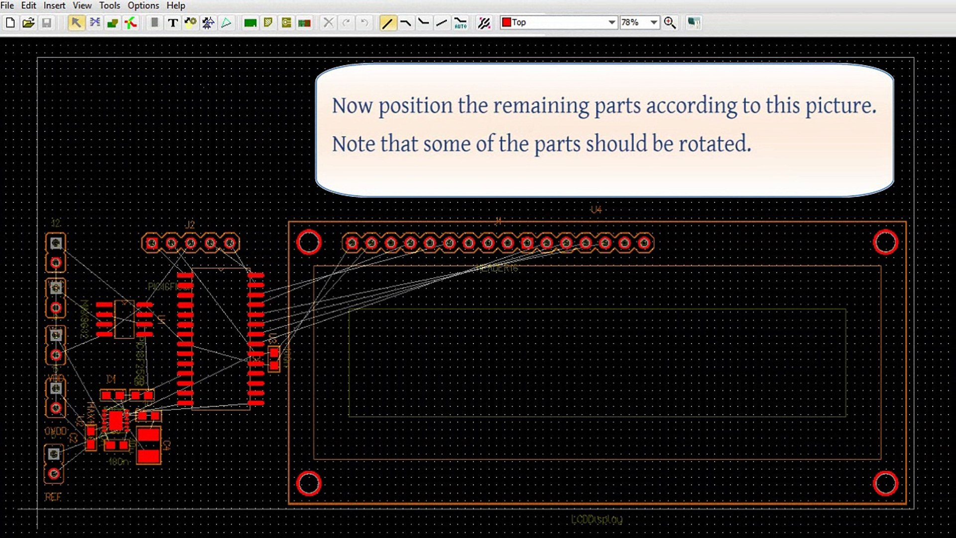 Creating Two Sided Pcbs In Tina Part 2 Tina Pcb Design Flow Video Dailymotion