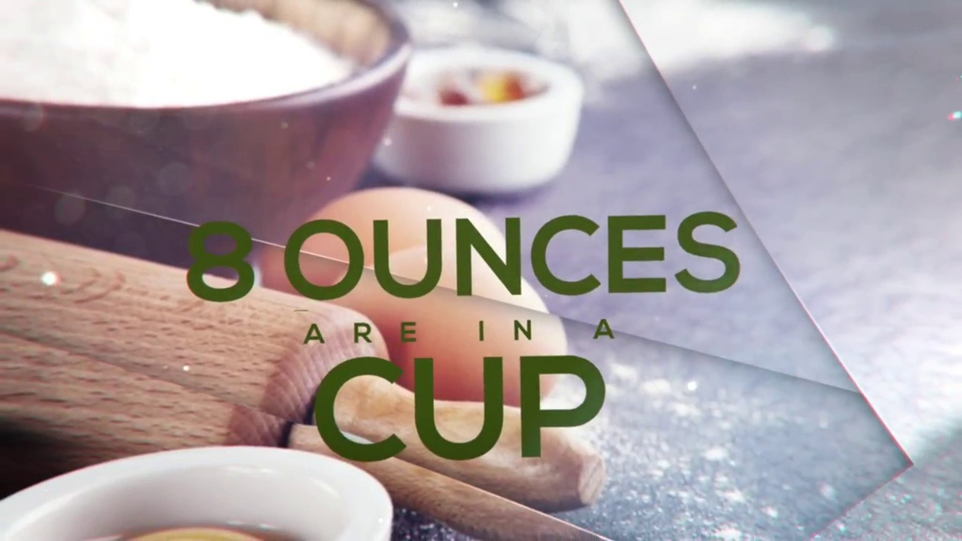 How Many Ounces In A Cup Video Dailymotion