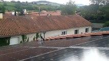 Inspection des panneaux photovoltaïques par l'Expert LeChat