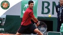 Les temps forts Djokovic - Berdych Roland-Garros 2016 / 1/4