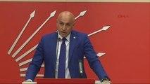 CHP Genel Başkan Yardımcısı Erdal Aksünger, CHP Genel Merkezi'nde Rıza Sarraf Davasına İlişkin Bir...