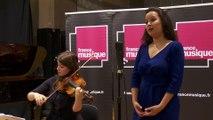 """Extrait du """"Petit Poucet"""" de Laurent de Rillé par le Quatuor Giardini, Jodie Devos, Caroline Meng I Le live de la matinale"""
