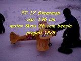 PT-17 Stearman maiden flight
