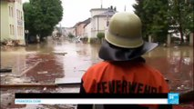 Floods in Germany: Incessant rain strands hundreds and forces residents to seek refuge