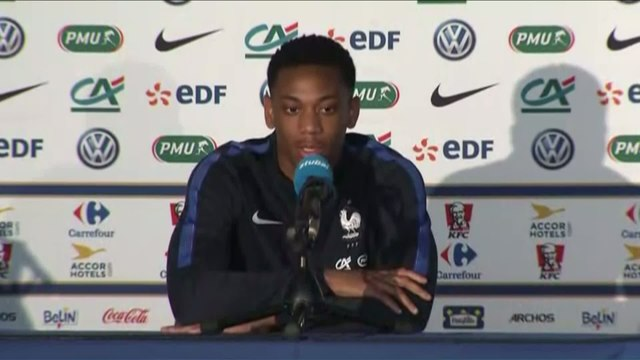 Foot - Euro - Bleus : Martial «Je me sens bien»