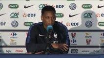 Foot - Euro - Bleus : Martial «On a beaucoup de bons joueurs»