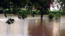 Savigny-sur-Orge. Crue de l'Orge : les inondations du 2 juin 2016.