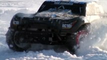 RC Cars BASHING In Snow - Short Course Truck - Team Associated ProSC 4x4