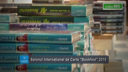 Salonul Internațional de Carte Bookfest 2016