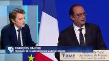 """François Baroin: François Hollande """"a compris le message"""" envoyé par les maires"""